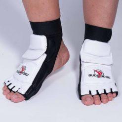 14612 002 budo nord taekwondo fotskydd pair