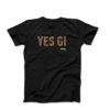 29NIKU T shirt YES GI black 1