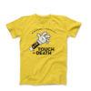 29NIKU x McDojoLife T shirt Touch Of Death gul