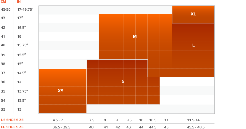 2XU_Mens_Compression_Performance _Run_Sock_Size