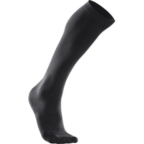 2XU Mens Compression Performance  Run Sock black 1