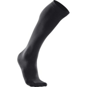2XU Womens Compression Performance Run Sock Black 1