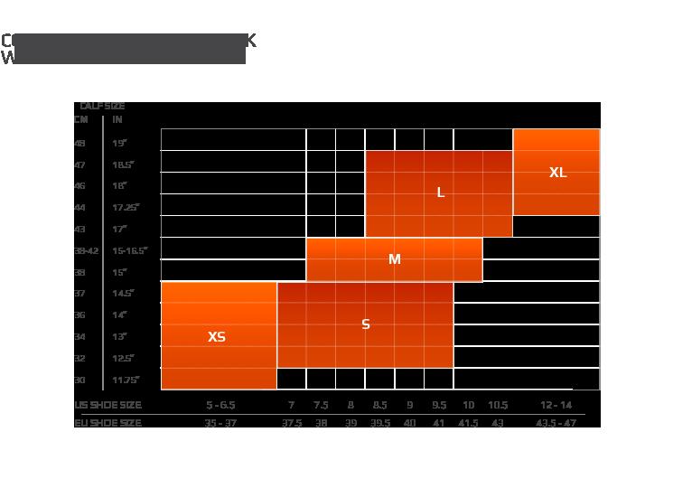 2XU_Womens_Compression_Performance_Run_Sock_size