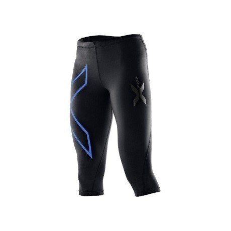 2XU_Womens_Compression_Tights_3-2_black-blue_1