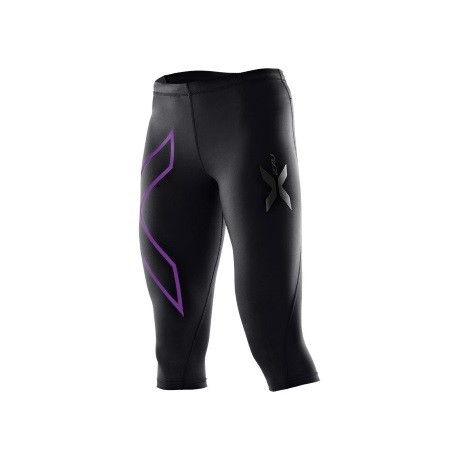2XU Womens Compression Tights 3 2 black purple 1