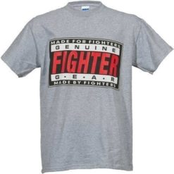 31056 000 fighter t shirt gray