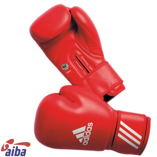 Adidas AIBA Boxningshandskar rod 1