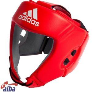 Adidas AIBA Boxningshjalm rod 1