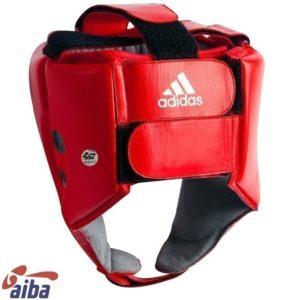Adidas AIBA Boxningshjalm rod 2