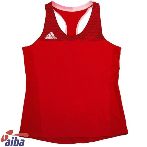 Adidas AIBA Boxningslinne Dam rod 1