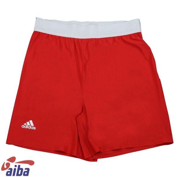 Adidas AIBA Boxningsshorts rod 1
