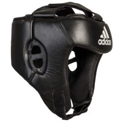 Adidas Boxningshjalm svart 4