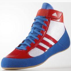 Adidas Brottningskor HVC bla rod vit 2