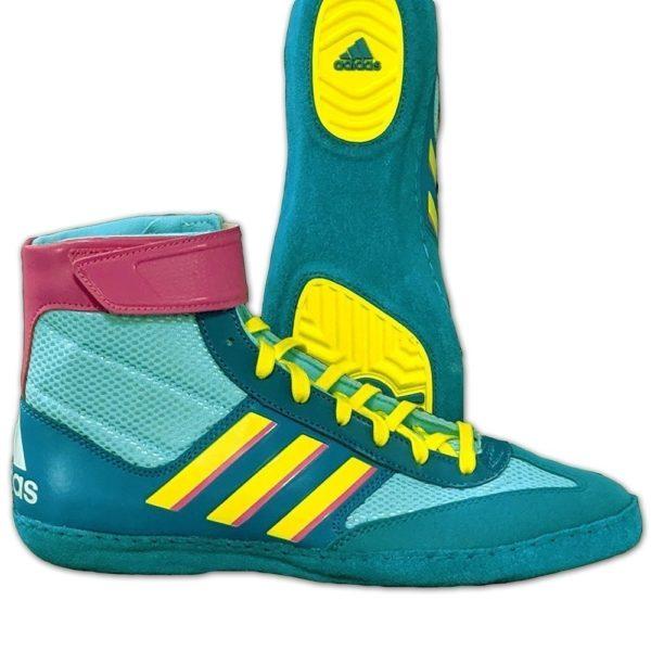 Adidas Brottningsskor Combat Speed V aqua 1
