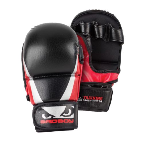 Bad Boy Training Series 2.0 MMA Safety Gloves red 1