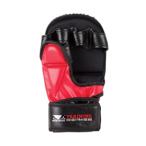Bad Boy Training Series 2.0 MMA Safety Gloves red 3