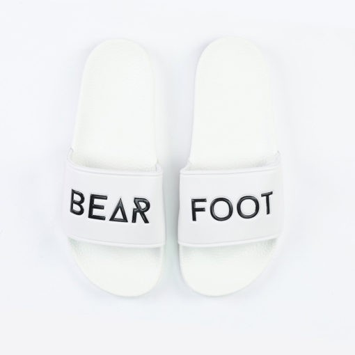 Bearfoot Stafford Slides vit 1