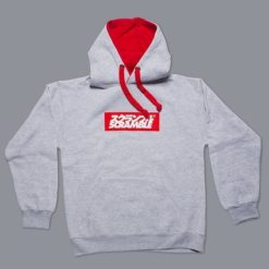 Box Logo Hoody Grey