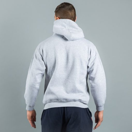 Box Logo Hoody Grey 5