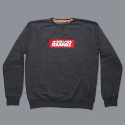 Box Logo Sweater Black Melange 5