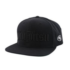 Choke Republic Snapback Jiu Jitsu Old English svart 1