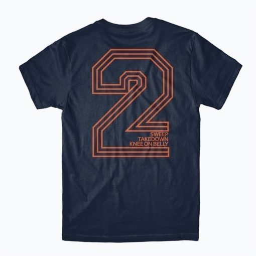 Choke Republic T shirt 2 point navy 2