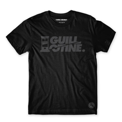 Choke Republic T shirt Guillotine