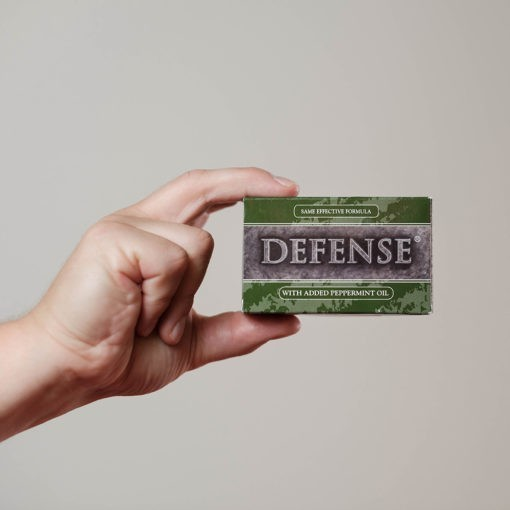 Defense Soap Bar Peppermynta 1