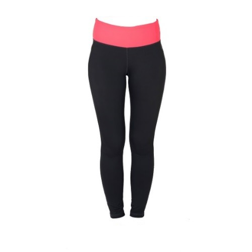 DoM Bow Tights grey coral front new