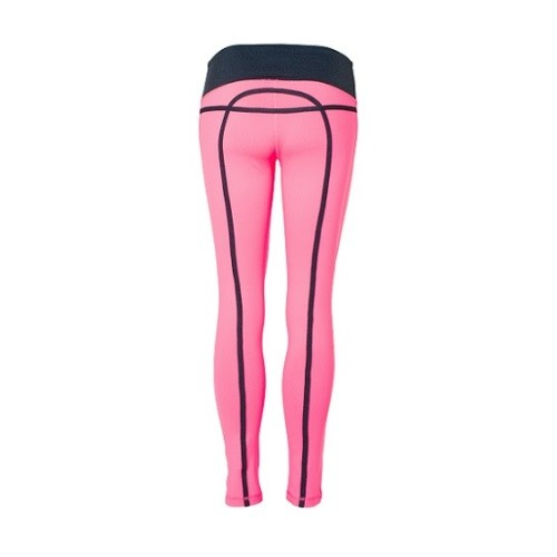 DoM Bow Tights pink back