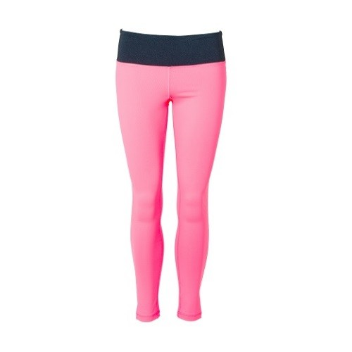DoM Bow Tights pink front