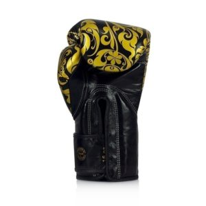 Fairtex Boxningshandskar Glory Limited Edition svart guld 2