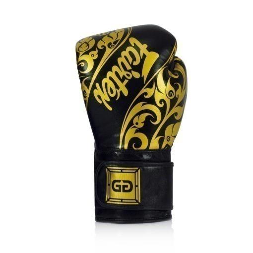 Fairtex Boxningshandskar Glory Limited Edition svart guld 3