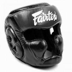 Fairtex Huvudskydd HG13 svart 1