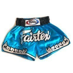 Fairtex Thaiboxningsshorts BS0631 Thai Flame Bla 1