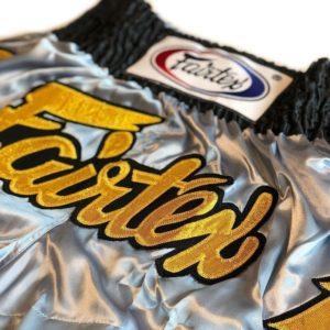 Fairtex Thaiboxningsshorts BS0632 Gold Leafs 2