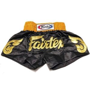 Fairtex Thaiboxningsshorts BS0652 Golden Horn 1