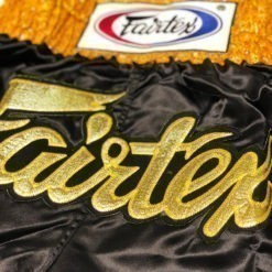 Fairtex Thaiboxningsshorts BS0652 Golden Horn 2