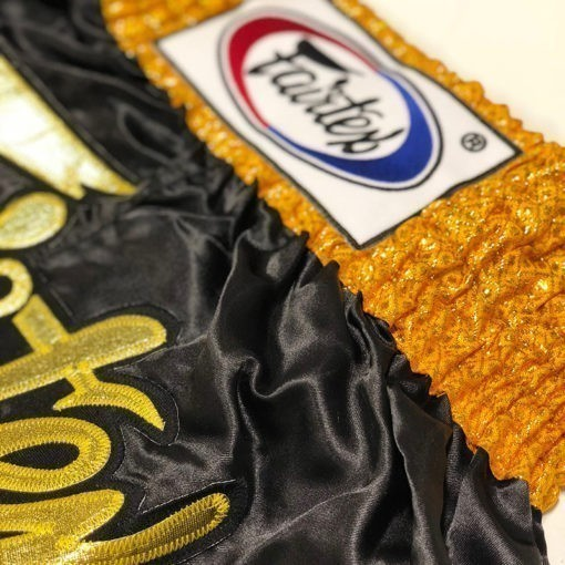 Fairtex Thaiboxningsshorts BS0652 Golden Horn 3