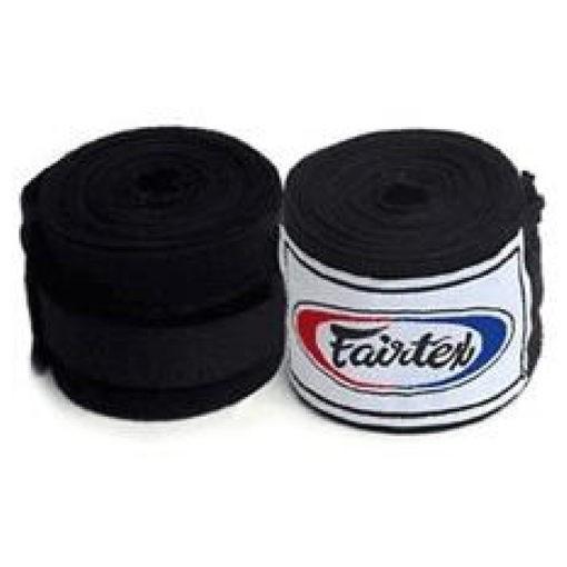 Fairtex boxningslindor 45 m svart