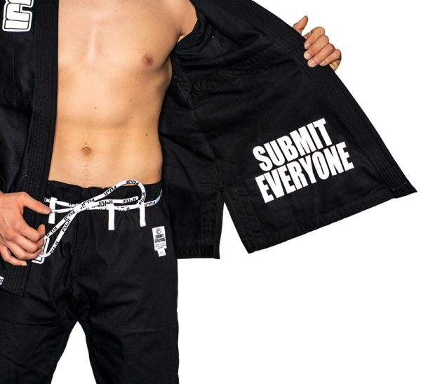 Fuji Bjj Gi Submit Everyone svart 5