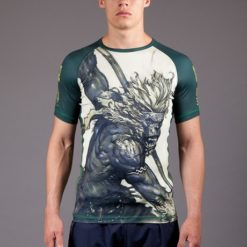 Gawakoto Rashguard Monkey King Green 1