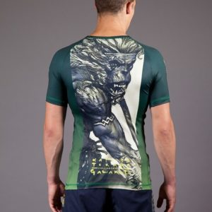Gawakoto Rashguard Monkey King Green 2