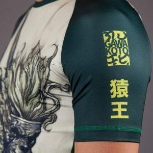 Gawakoto Rashguard Monkey King Green 4