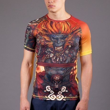 Gawakoto Rashguard Monkey King Orange 1