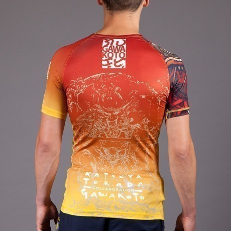 Gawakoto Rashguard Monkey King Orange 2