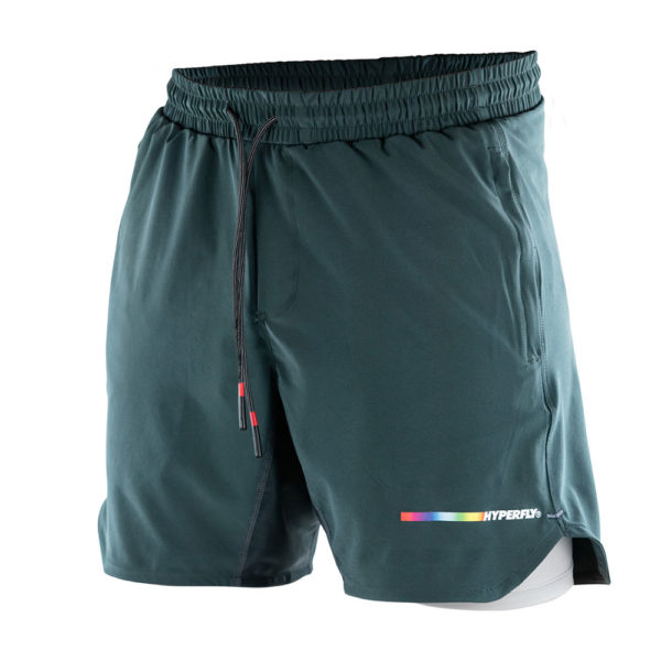 Hyperfly Athletic Shorts Icon grey 1