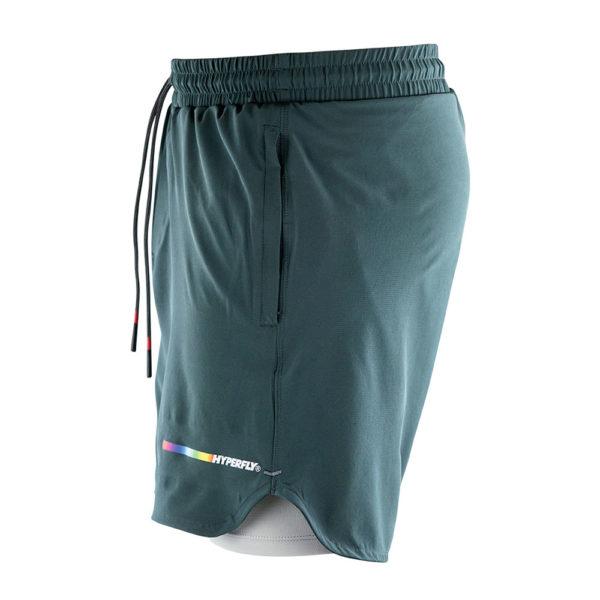 Hyperfly Athletic Shorts Icon grey 2