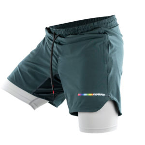 Hyperfly Athletic Shorts Icon grey 5