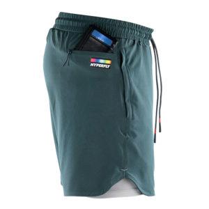 Hyperfly Athletic Shorts Icon grey 6
